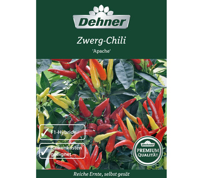 Dehner Premium Samen Zwerg-Chili 'Apache'
