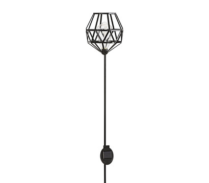 Dehner Premium Solar-Dekostab Knud, ca. H128 cm, schwarz