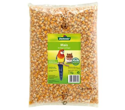 Dehner Qualitätsfutter Mais für Vögel und Nager, 1 kg