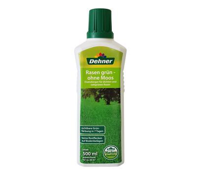 Dehner Rasen grün - ohne Moos, 500 ml