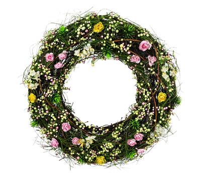 Dehner Rebenkranz mit Blüten