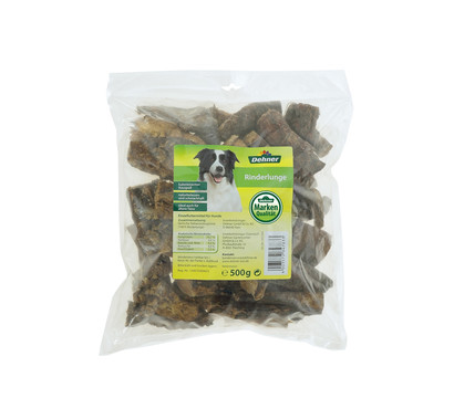 Dehner Rinderlunge, Hundesnack, 500g