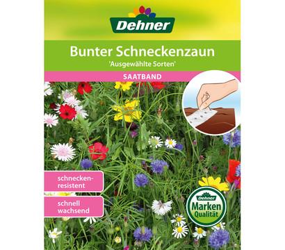 Dehner Saatband Bunter Schneckenzaun 'Ausgewählte Sorten'