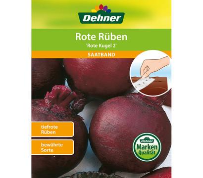 Dehner Saatband Rote Rübe 'Rote Kugel'