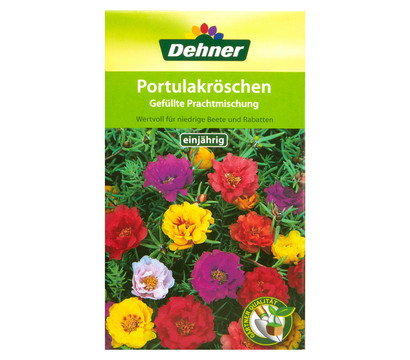 Dehner saatgut gärtnerqualität portulakröschen gefüllte