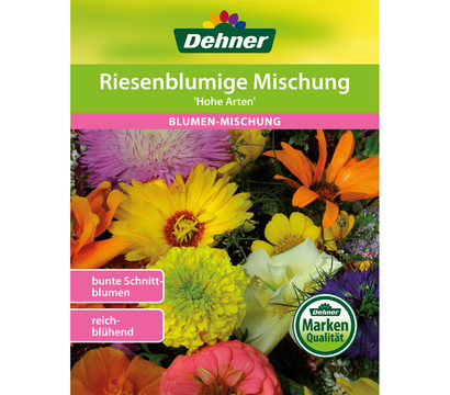 Dehner Samen Blumenmischung 'Hohe riesenblumige Prachtmischung'