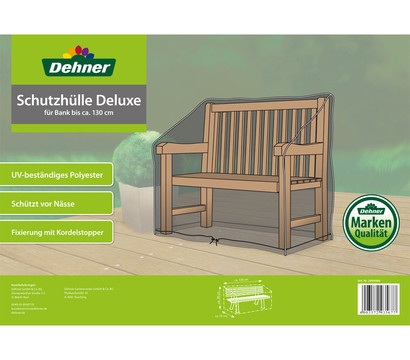 dehner schutzh lle deluxe f r b nke 130 x 75 x 80 cm dehner garten center. Black Bedroom Furniture Sets. Home Design Ideas