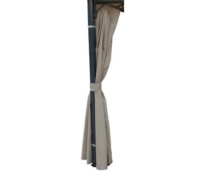 dehner seitenteil f r pavillon dubai 3 x 3 m dehner garten center. Black Bedroom Furniture Sets. Home Design Ideas