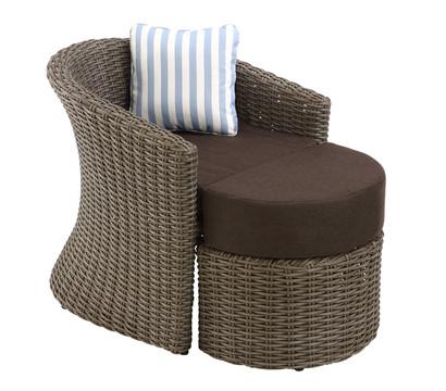 dehner sessel princeton mit hocker dehner garten center. Black Bedroom Furniture Sets. Home Design Ideas