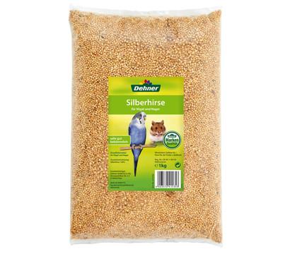 Dehner Silberhirse für Vögel und Nager, 1 kg