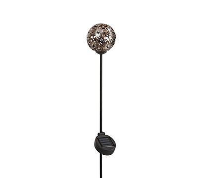 Dehner Solar-Dekostab Nova, ca. H110 cm, metallic-braun