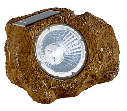 Dehner Solar-Leuchtstein, braun