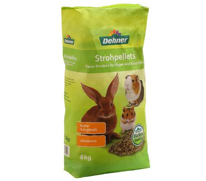 Dehner Strohpellets Natur-Einstreu für Nager und Kleintiere