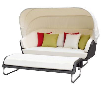 dehner sun lounger aruba mit hocker dehner garten center. Black Bedroom Furniture Sets. Home Design Ideas