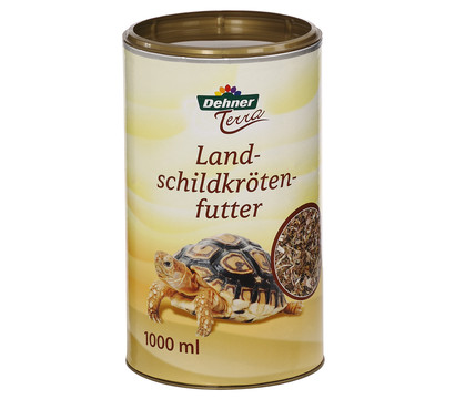 Dehner Terra Landschildkrötenfutter, 1 Liter