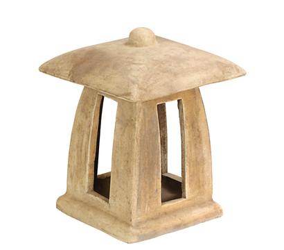 Dehner Terrakotta-Gartenlampe, ca. B26/H34/T26 cm, m-terra