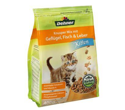 Dehner Trockenfutter Knusper Mix Kitten, 400 g