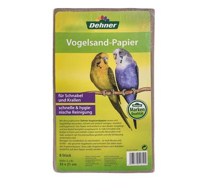 Dehner Vogelsandpapier, 8 Blatt