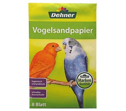 Dehner Vogelsandpapier, 8 Stk.