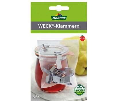Dehner Weck-Klammern, 6 Stück