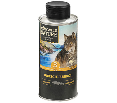 Dehner Wild Nature Ergänzungsfutter Dorschleberöl, BARF
