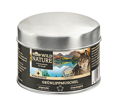 Dehner Wild Nature Ergänzungsfutter Grünlippmuschel, BARF