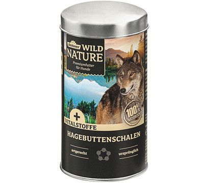 Dehner Wild Nature Ergänzungsfutter Hagebuttenschalen, BARF