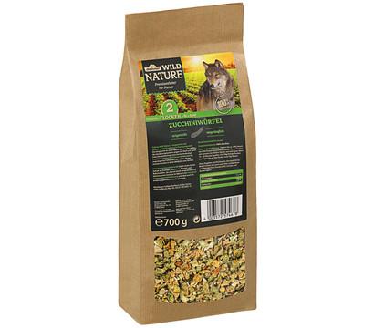 Dehner Wild Nature Ergänzungsfutter Zucchiniwürfel, BARF