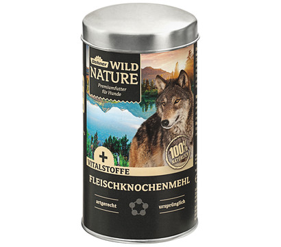 Dehner Wild Nature Fleischknochenmehl, Ergänzungsfutter, 350 g