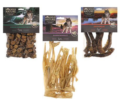 Dehner Wild Nature Snack-Set