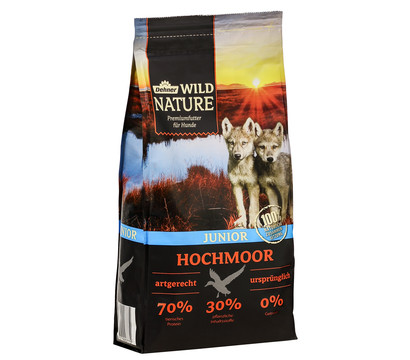 Dehner Wild Nature Trockenfutter Hochmoor Junior