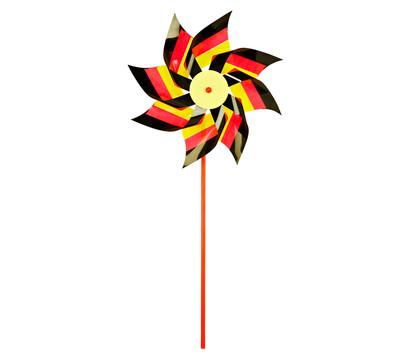 Dehner Windrad Deutsche Flagge