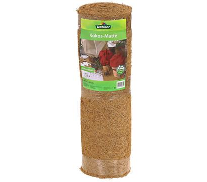 Dehner Winterschutz Kokosmatte für Blumenkübel, L150/B50 cm