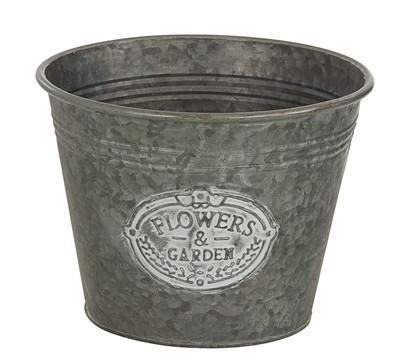 Dehner Zink-Topf Flowers & Garden