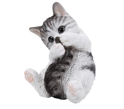 Dehner-Polyresin Kätzchen, spielend