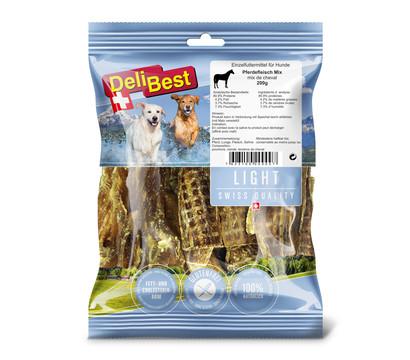 DeliBest Light Hundesnack Pferdefleisch-Mix