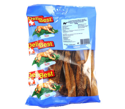 DeliBest Light Kamel Trockenkau-Sticks, Hundesnack, 150g