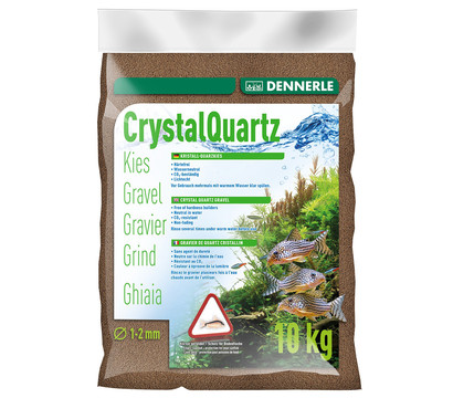 DENNERLE Kristall-Quarzkies, 10kg