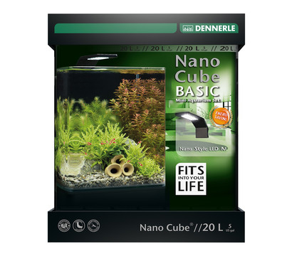 DENNERLE Mini-Aquarium Set Nano Cube® Basic