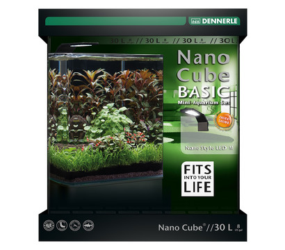 DENNERLE Mini-Aquarium Set Nano Cube® Basic