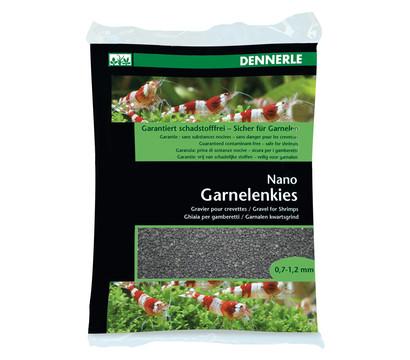 DENNERLE Nano Garnelenkies, schwarz, 0,7 - 1,2mm, 2kg