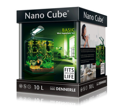 Dennerle NanoCube Basic Mini Aquarium-Set