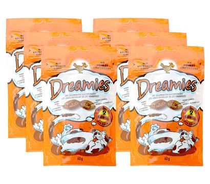 Dreamies™ Katzensnack Huhn, 6 x 60g