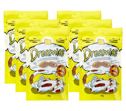 Dreamies® Käse, Katzensnack, 6x60 g