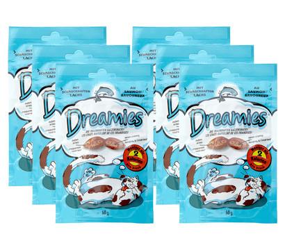 Dreamies® Lachs, Katzensnack, 6x60 g