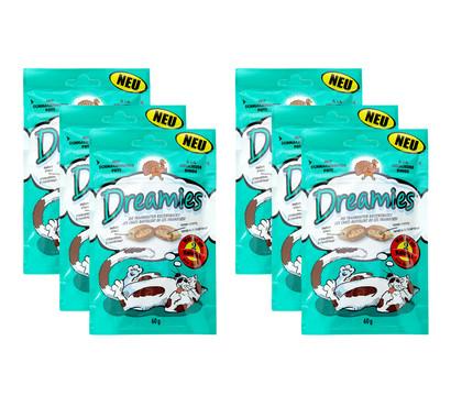 Dreamies® Pute, Katzensnack, 6x60 g