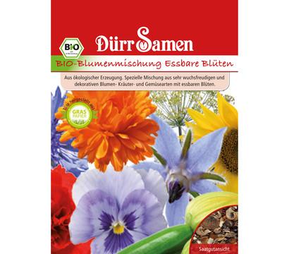 Dürr Samen Bio-Blumenmischung Essbare Blüten