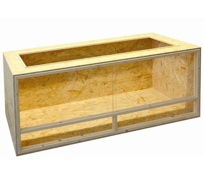 elmato terrarium aus holz 150x60x60 cm dehner garten center. Black Bedroom Furniture Sets. Home Design Ideas