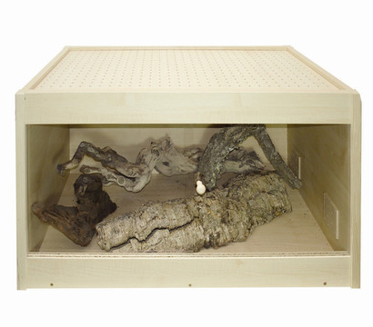 Elmato® Terrarium aus Holz, 80 x 45 x 45cm