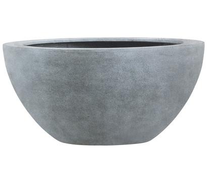 Esteras Fiberglas-Blumenkübel Bristol, granit-grau